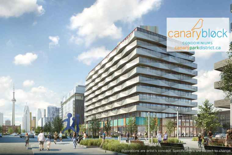 canary block condos - building render-new-w1200